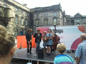 Edinburgh Festival Stage Performance